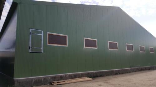Bâtiment stockage pommes de terre à Franleu