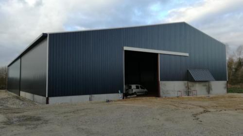 Bâtiment stockage pommes de terre à Villers-sur-Authie